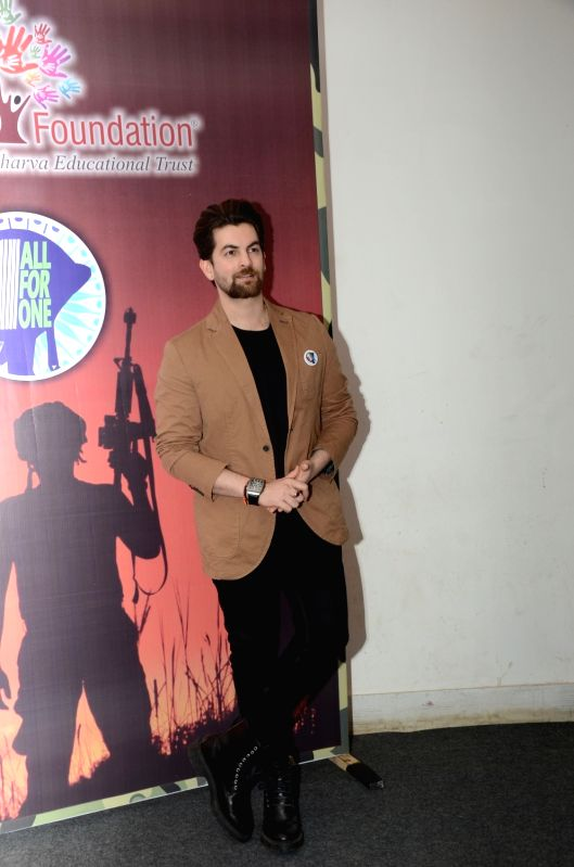 Actor Neil Nitin Mukesh during a programme in Mumbai on Jan 31, 2018. - Neil Nitin Mukesh