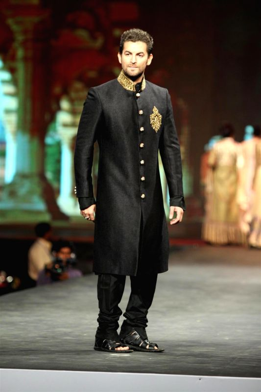 Actor Neil Nitin Mukesh during the `Caring with Style` 9th Annual Fashion Show by Fevicol in support of CPAA (Cancer Patient Aid Association) at NSCI in Worli, Mumbai on Sunday, May 10, 2014. - Neil Nitin Mukesh