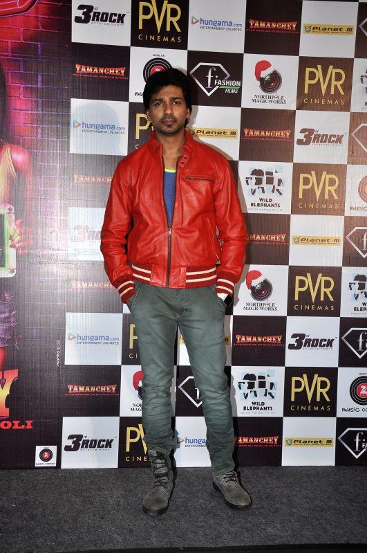 Actor Nikhil Dwivedi during the trailer launch of film Tamanchey in Mumbai on July 31, 2014. - Nikhil Dwivedi
