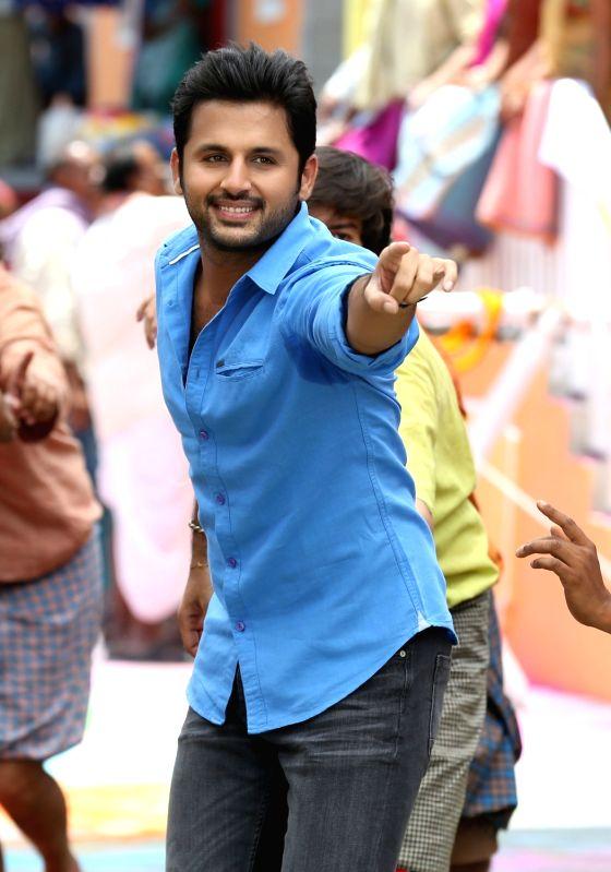 Actor Nithiin stills from Telugu film `A Aa` - Nithiin