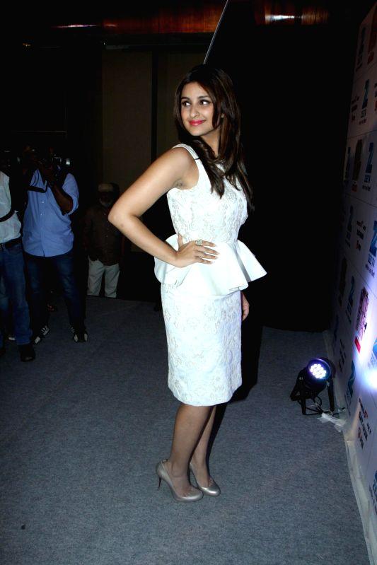 Actor Parineeti Chopra during India`s Best Cinestars Ki Khoj hosted by Zee TV in Mumbai on June 26, 2014. - Parineeti Chopra