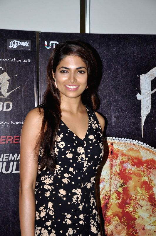 Actor Parvathy Omanakuttan during a media interaction of film Pizza in Mumbai, on July 1, 2014. - Parvathy Omanakuttan