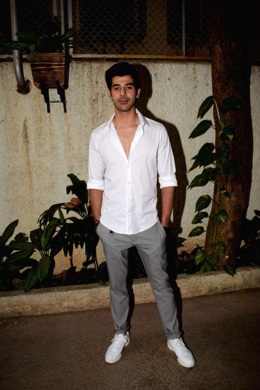 """Actor Pavail Gulati at the special screening of web series """"Haq Se"""" in Mumbai on Jan 30, 2018. - Pavail Gulati"""