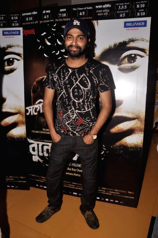Actor Pitobash during special screening of Bengali film Buno Haansh in Mumbai. - Pitobash
