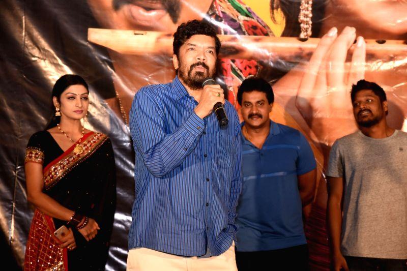 Actor Posani Krishna Murali during the trailer launch of film Ungarala Rambabu on Hyderabad, June 7, 2017. - Posani Krishna Murali