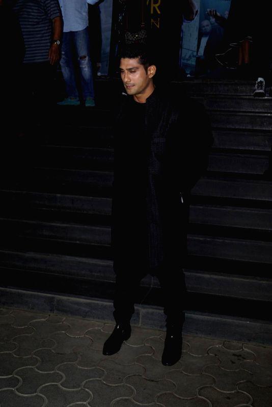 """Actor Prateik Babbar at the special screening of his film """"Mulk"""" in Mumbai on Aug 2, 2018. - Prateik Babbar"""