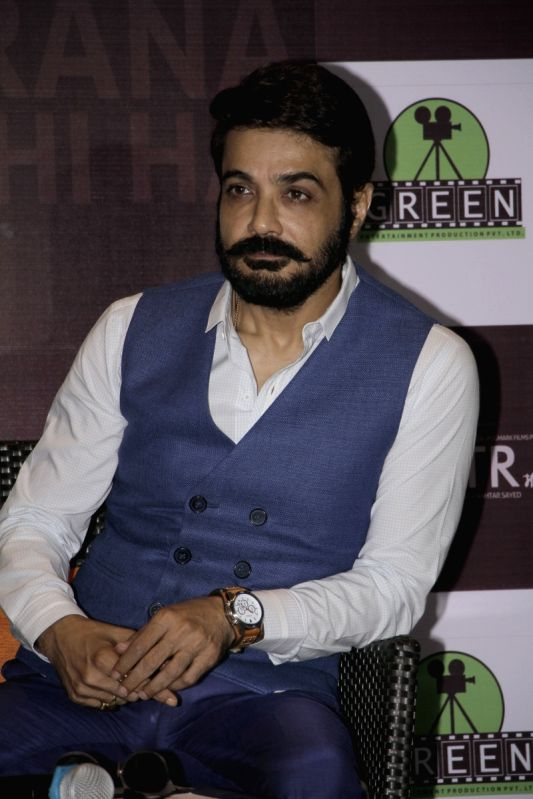 "Actor Prosenjit Chatterjee during promotion upcoming film ""Maatr"" in Kolkata, on April 21, 2017. - Prosenjit Chatterjee"