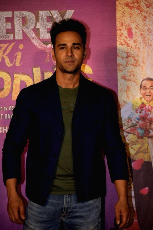 "Actor Pulkit Samrat at the trailer launch of his upcoming film ""Veerey Ki Weeding"" in Mumbai on Feb 1, 2018. - Pulkit Samrat"