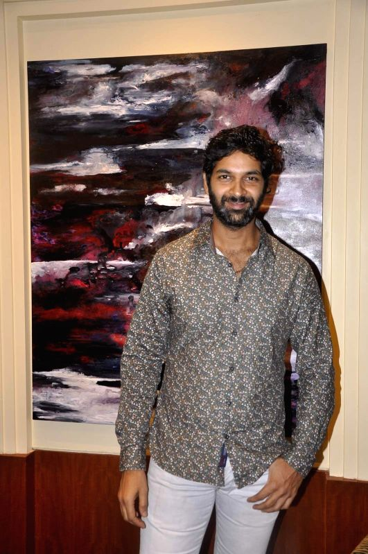 Actor Purab Kohli attends Gallerie Angel Arts curated work `In An Artist's Mind` exhibition in Mumbai on August 14, 2015. - Purab Kohli