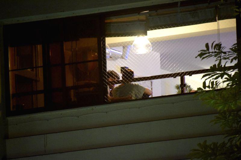 Actor Rabir Kapoor seen at actress Alia Bhatt's residence in Mumbai on July 6, 2018. - Rabir Kapoor