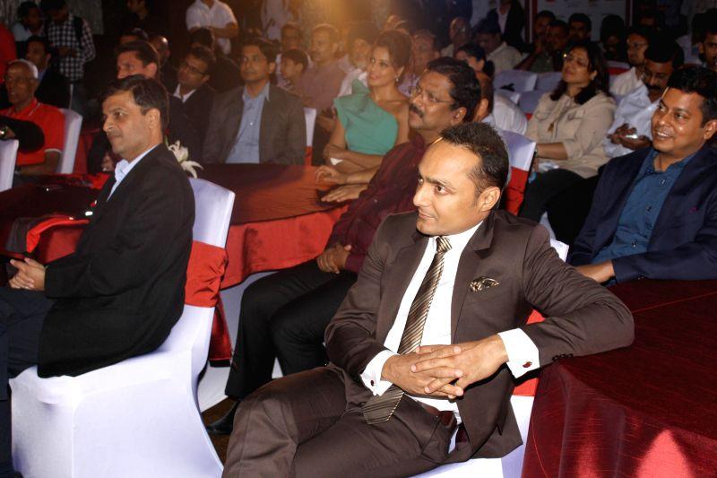 Actor Rahul Bose during a programme organised to start registration for 'Airtel Delhi Half Marathon 2014' in New Delhi on Aug 27, 2014. - Rahul Bose
