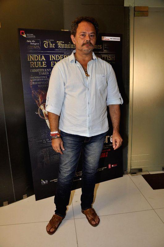 Actor Raj Zutshi during a media interaction of film Kya Dilli Kya Lahore in Mumbai on April 28, 2014. - Raj Zutshi