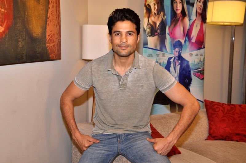 Actor Rajeev Khandelwal during the media interaction of the film Fever, in Mumbai on July 26, 2016. - Rajeev Khandelwal
