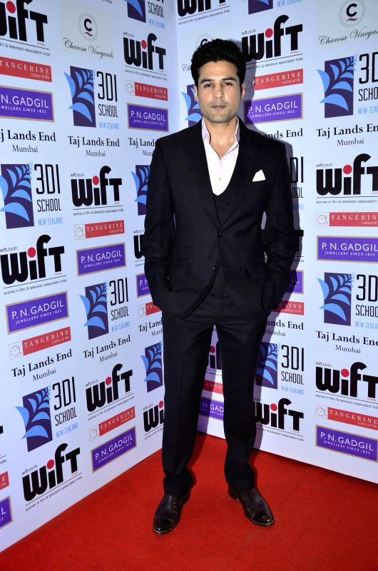 Actor Rajeev Khandelwal during the WIFT 61st National Women achievers award ceremony in Mumbai on May 09, 2014. - Rajeev Khandelwal