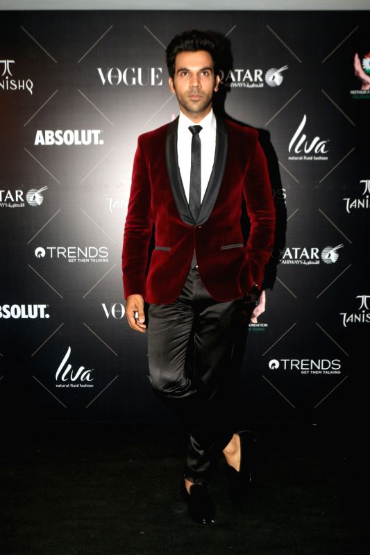 "Actor Rajkummar Rao at the red carpet of ""Vogue Beauty Awards"" in Mumbai on July 31, 2018. - Rajkummar Rao"