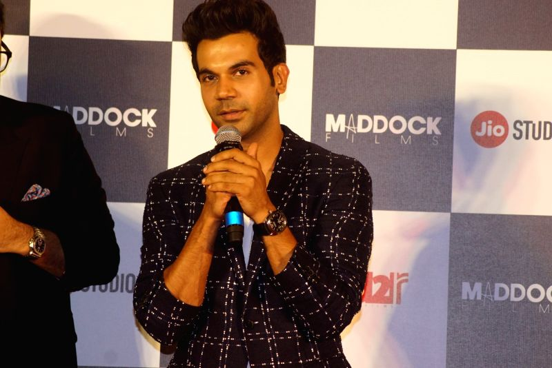 "Actor Rajkummar Rao at the trailer launch of his upcoming film ""Stree"" in Mumbai on July 26, 2018. - Rajkummar Rao"