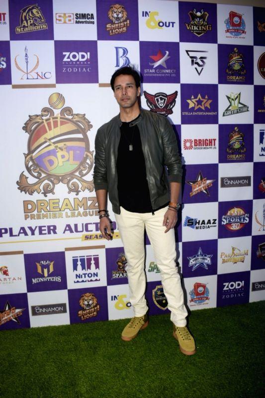 Actor Rajneesh Duggal at Dreamz Premiere League players auction in Mumbai, on Dec 15, 2018. - Rajneesh Duggal