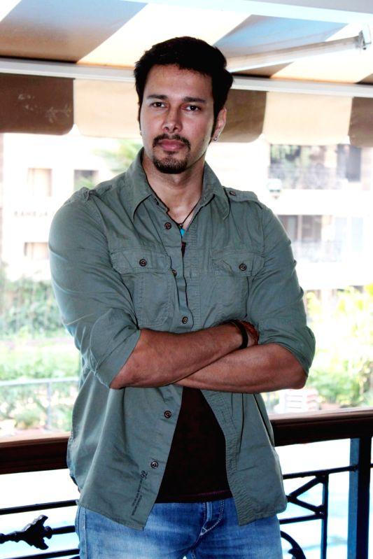 Actor Rajneesh Duggal during the trailer launch of film Direct Ishq, in Mumbai on Jan 18, 2016.