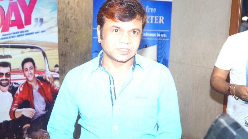 Actor Rajpal Yadav during the 1st Films Today Award 2016 on May 19, 2016. - Rajpal Yadav