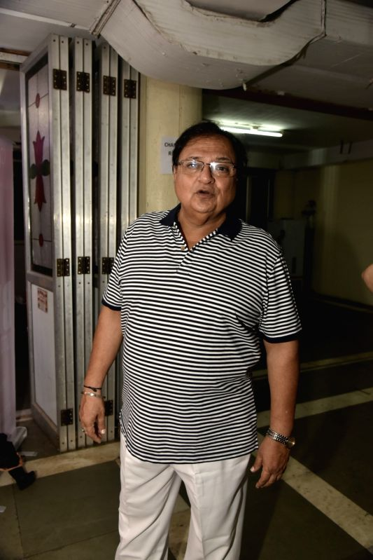 Actor Rakesh Bedi at the premiere of comedy play 'Wrong Number', in Mumbai on June 3, 2018. - Rakesh Bedi