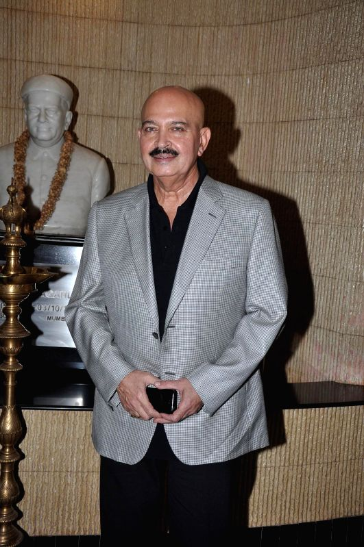 Actor Rakesh Roshan during the 145th Dadasaheb Phalke Awards ceremony in Mumbai on April 30, 2014. - Rakesh Roshan