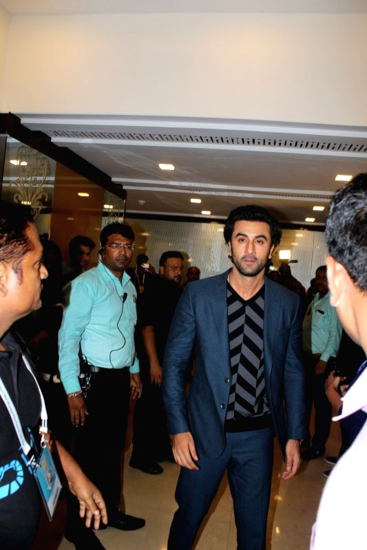"Actor Ranbir Kapoor at ""Jio Mami Film Mela"" in Mumbai on Oct 7, 2017. - Ranbir Kapoor"