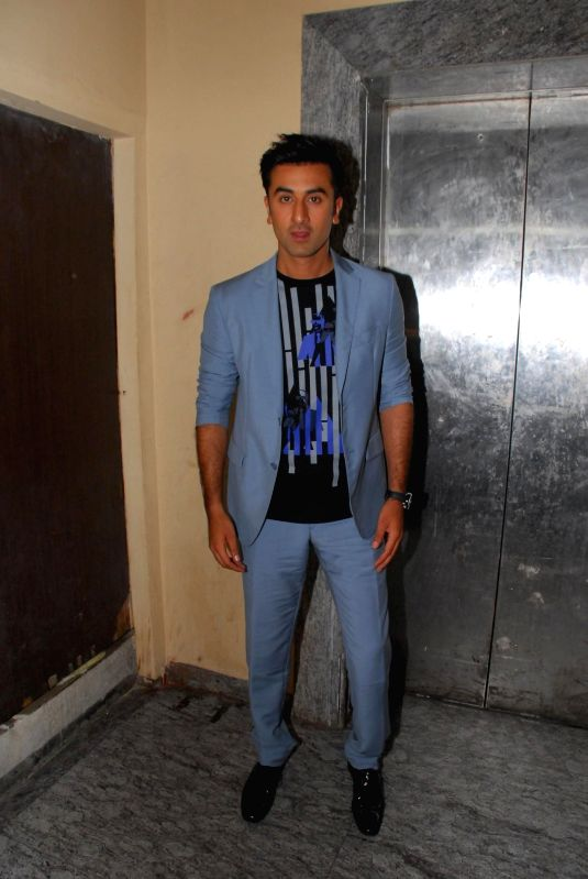 Actor Ranbir Kapoor during the inauguration of India`s largest short film festival `Shuruaat Ka Interval` at PVR Cinemas in Mumbai, on August 13, 2014. - Ranbir Kapoor