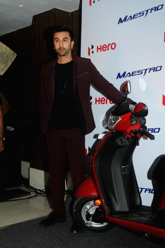 Actor Ranbir Kapoor during the meet and greet event organised by Hero Motocorp at Hotel Novotel in Mumbai  on June 23, 2014.