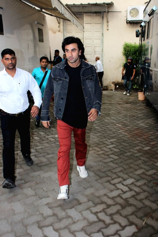 "Actor Ranbir Kapoor during the promotion of film ""jagga Jasoos"" at Mehboob Studio, in Mumbai on June 13, 2017. - Ranbir Kapoor"