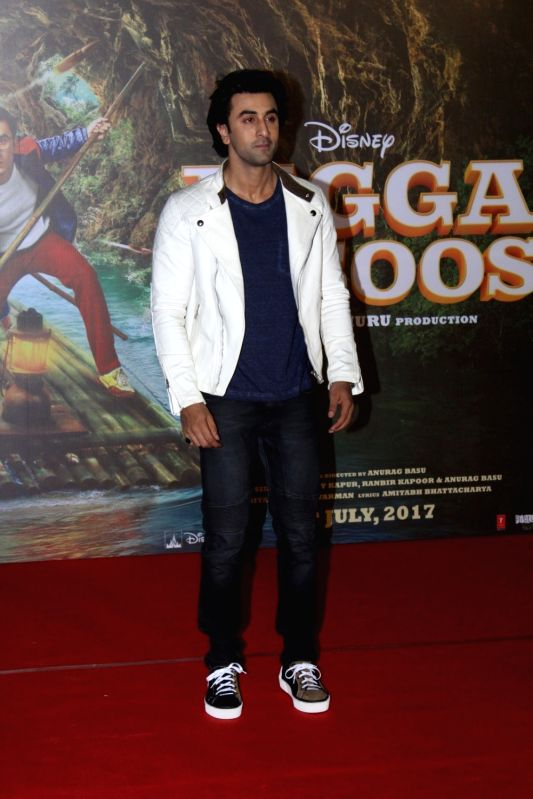 "Actor Ranbir Kapoor during the song launch of his upcoming film ""Jagga Jasoos"" in Mumbai on June 9, 2017. - Ranbir Kapoor"