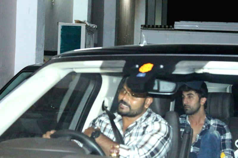Actor Ranbir Kapoor seen at a studio in Bandra, Mumbai on June 5, 2018. - Ranbir Kapoor