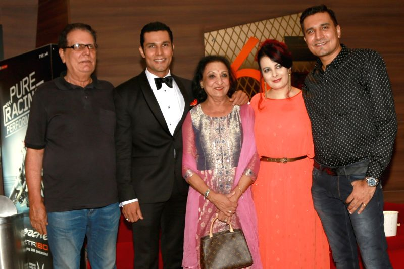 "Actor Randeep Hooda at premiere of ""Sarbjit"" in New Delhi on May 20, 2016. - Randeep Hooda"