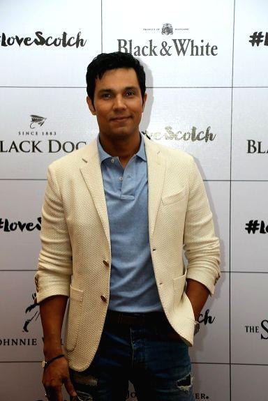 Actor Randeep Hooda at the USL-Diageo LoveScotch Event to celebrate Worl... - Randeep Hooda