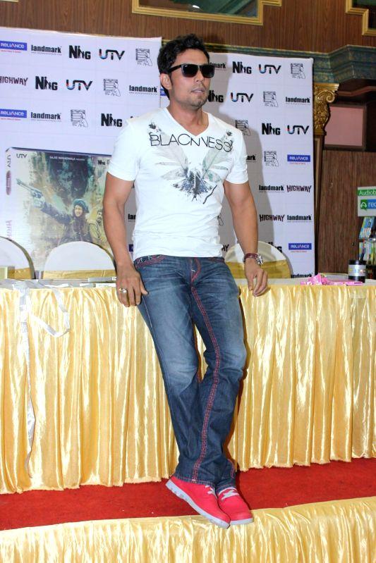 Actor Randeep Hooda during the DVD launch of film Highway in Mumbai on May 13, 2014. - Randeep Hooda