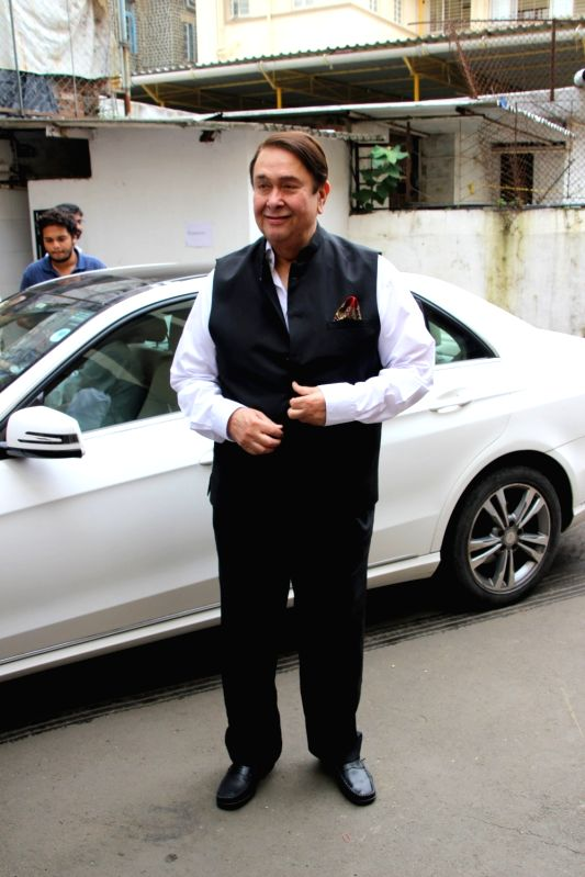 Actor Randhir Kapoor at the 5th edition of Indian Screenwriters Conference in Mumbai on Aug 3, 2018. - Randhir Kapoor