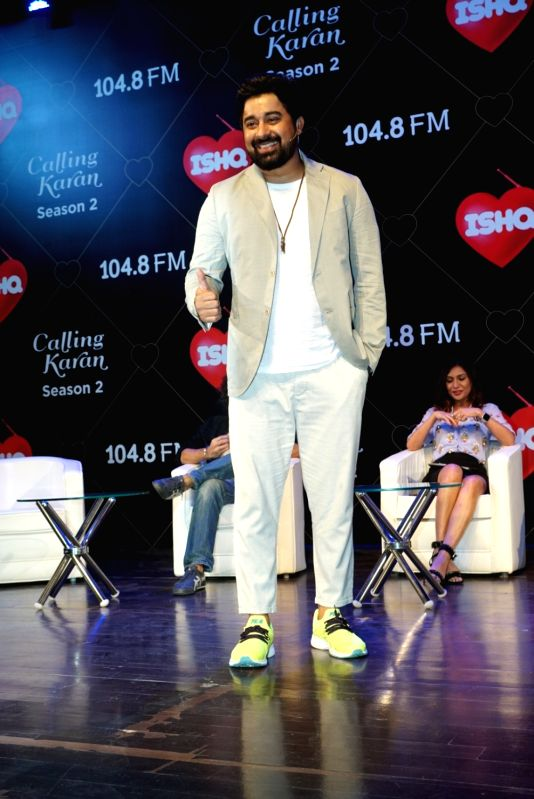 "Actor Rannvijay Singha at the launch of upcoming radio show ""Calling Karan Season 2"" in Mumbai on Aug 6, 2018. - Rannvijay Singha"