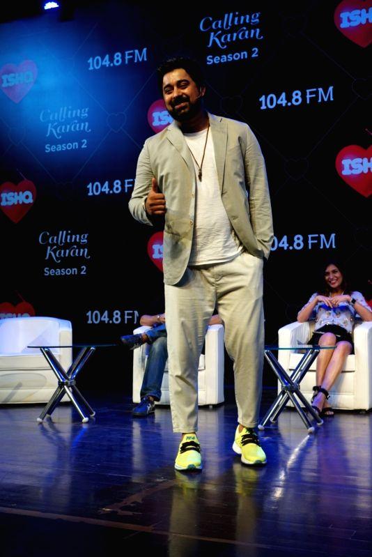 "Actor Rannvijay Singha at the launch of upcoming radio show ""Calling Karan Season 2"" in Mumbai on Aug 6, 2018. - Rannvijay Singha"
