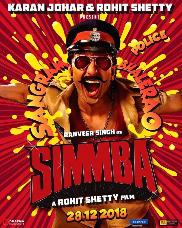 Ranveer turns quirky policeman for 'Simmba - Ranveer Singh