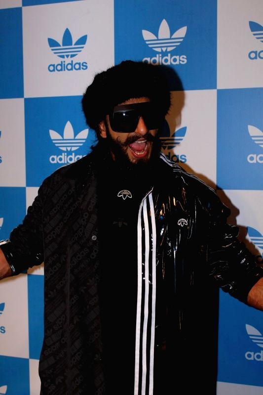 Actor Ranveer Singh during the launch of Adidas Store in Mumbai on April 28, 2017. - Ranveer Singh