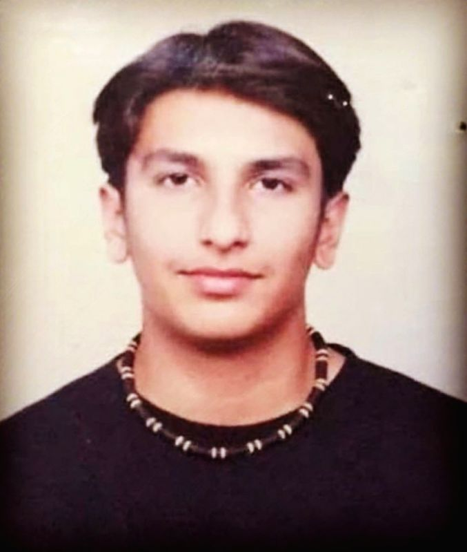 Actor Ranveer Singh on Friday treated his fans to his throwback picture, which appears from his teenage days.