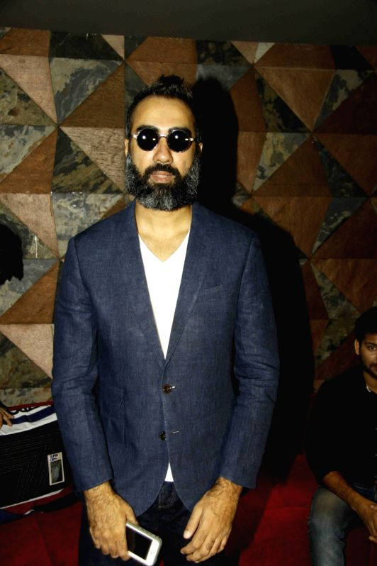 Actor Ranvir Shorey during the celebration for the best feature film Blue Mountain in 9th International Children's Film festival of India in Mumbai on Dec 2, 2015. - Ranvir Shorey