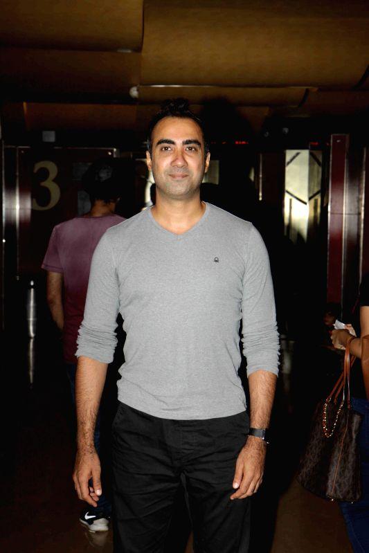 Actor Ranvir Shorey during the launch of book on film Gour Hari Dastan - The Freedom File in Mumbai, on Aug 10, 2015. - Ranvir Shorey