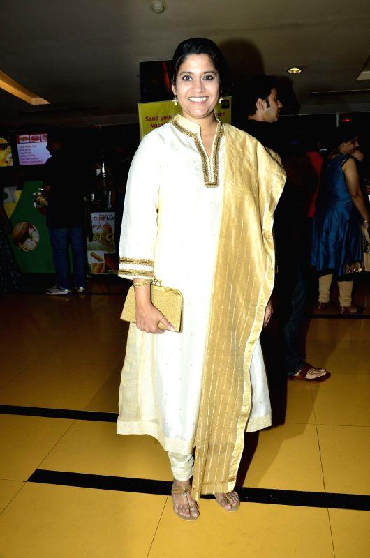 Actor Razak Khan during the special screening of film Hawaa Hawaai in Mumbai, on April 29, 2014. - Razak Khan