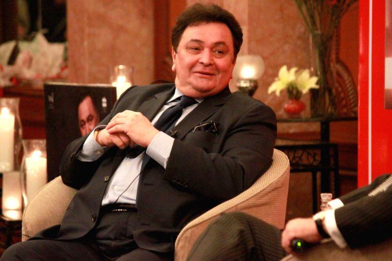 Actor Rishi Kapoor