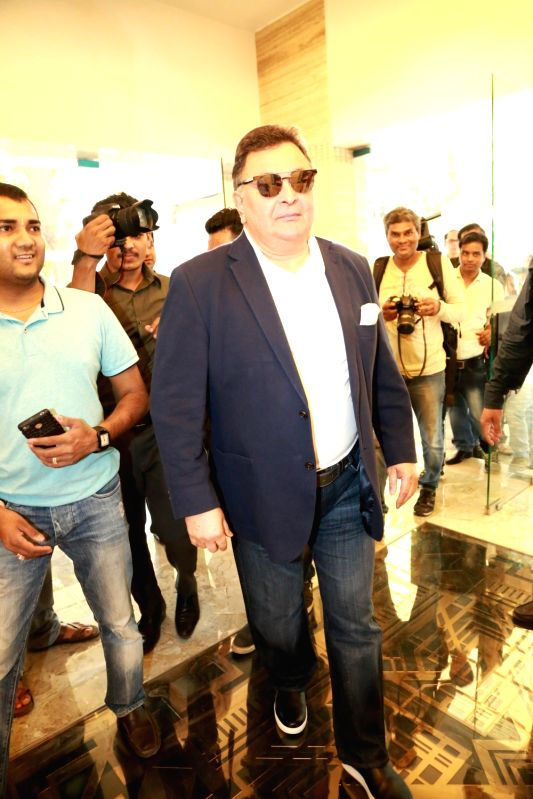 Actor Rishi Kapoor during the re-premiere of film Karz in Mumbai on April 23, 2017. - Rishi Kapoor