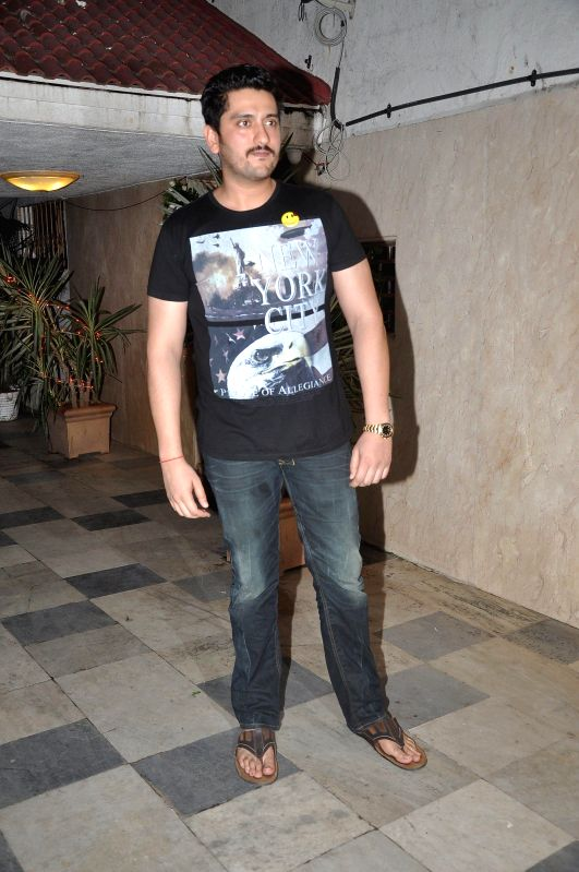Actor Riteish Deshmukh during the success party of the film Ek Villain in Mumbai on 5th July 2014 - Riteish Deshmukh