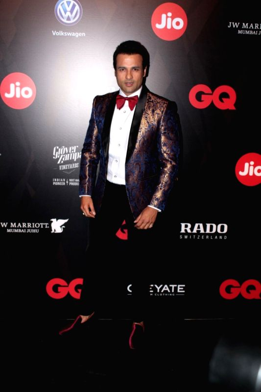 Actor Rohit Roy during the GQ Best Dressed 2017 in Mumbai, on June 3, 2017. - Rohit Roy