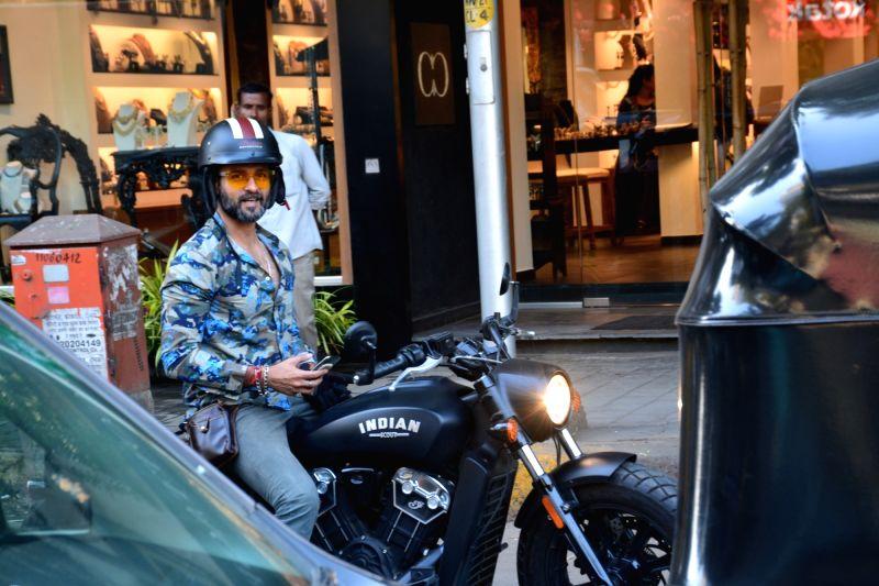 Actor Rohit Roy.