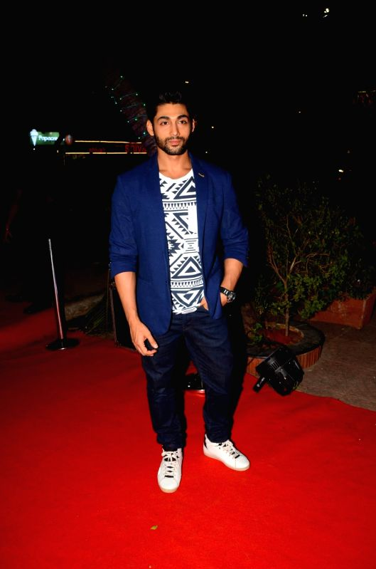 Actor Ruslaan Mumtaz during the launch of a Salon and Spa in Mumbai on  April 21, 2017. - Ruslaan Mumtaz