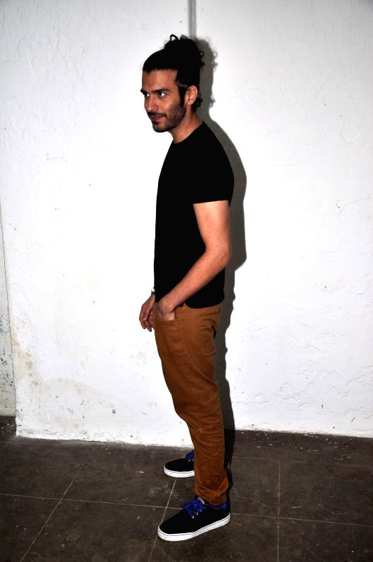 Actor Saahil Prem during the promotion of his upcoming film Mad About Dance in Mumbai on August 5, 2014. - Saahil Prem